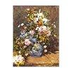 """Castleton Home Leinwandbild """"Stillleben mit großer Blumenvase"""" von Pierre Auguste Renoir, Kunstdruck"""