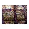 """Castleton Home Leinwandbild """"Alte Meister Blick auf Arles"""" von Vincent van Gogh, Kunstdruck"""