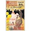 Castleton Home 'La Goulue' by Lautrec Vintage Advertisement