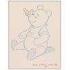 Castleton Home 'Disney-Pooh Bear Makes A Friend' Art Print