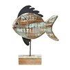 Castleton Home Fish Sculpture