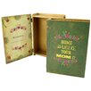"""Castleton Home """"Home is Where Your Mom Is"""" Wooden Book Box"""