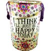 Castleton Home I'll Just Be Happy Laundry Hamper