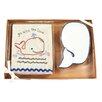 "Castleton Home 2 Piece Whale ""Go With the Flow"" Bathroom Set"