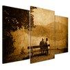 "Castleton Home 3-tlg. Leinwandbilder-Set ""Vintage"", Fotodruck"