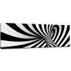 """Castleton Home Leinwandbild """"Abstrakte 3D Spirale"""", Grafikdruck"""