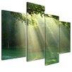 """Castleton Home 4-tlg. Leinwandbilder-Set """"gift of light"""", Fotodruck"""