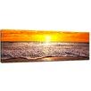 "Castleton Home Leinwandbild ""Strand Sonnenuntergang I"", Fotodruck"