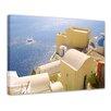 "Castleton Home Leinwandbild ""Santorini Segelschiff"", Fotodruck"