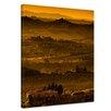 "Castleton Home Leinwandbild ""Toskana im Sonnenuntergang"", Fotodruck"