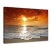 """Castleton Home Leinwandbild """"Sonnenuntergang in Korsika"""", Fotodruck"""
