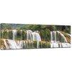 """Castleton Home Leinwandbild """"Wasserfall, Plitvice Kroatien"""", Fotodruck"""
