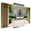 "Castleton Home 3-tlg. Leinwandbilder-Set ""Marokkanische Architektur"", Fotodruck"