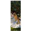 """Castleton Home Leinwandbild """"Alte Meister Frauen im Garten"""" von Claude Monet, Kunstdruck"""