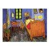 """Castleton Home Leinwandbild """"Alte Meister Vincents Schlafzimmer in Arles"""" von Vincent van Gogh, Kunstdruck"""