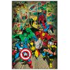Castleton Home 'Marvel Comics-Here Come The Heroses' Graphic Art