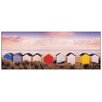 Castleton Home 'Winter Beach Huts Southwold' by Edwards Photographic Print