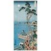 Castleton Home 'Il Poeta - Abe No Nakamaro 1833-34' by Katsushika Hokusai Art Print