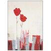 Castleton Home 'Estudio Art-Fiory Roja' Art Print