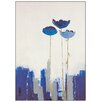 Castleton Home 'Estudio Art-Fiory Azul' Art Print