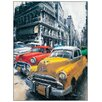 Castleton Home 'Havana Vintage Classic Cars I' by Massa Art Print