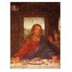 """Castleton Home Leinwandbild """"Alte Meister Das Abendmahl - Jesus Detail"""" von Leonardo da Vinci, Kunstdruck"""