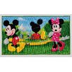Castleton Home Mickey Mouse Clubhouse Green/Red/Yellow Area Rug