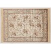 Castleton Home Fara Ivory/Orange/Red Area Rug
