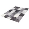 Castleton Home Rala Grey/Black Area Rug
