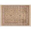 Castleton Home Fara Gold/Ivory/Red Area Rug