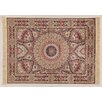 Castleton Home Fara Habib Ivory/Red/Black Area Rug