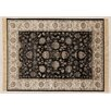 Castleton Home Ziedler Black/Beige Area Rug