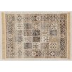 Castleton Home Bacha Cream/Black/Red Area Rug