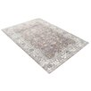 Castleton Home Sari Brown/Cream/Blue Area Rug