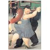 Castleton Home 'Dancers' by Botero Graphic art