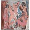 Castleton Home 'Les Demoiselle D'Avignon' by Pablo Picasso Art Print