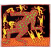 Castleton Home 'Fertility III' by Haring Graphic Art