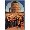 Castleton Home 'Lo Sposalizio Della Vergine' by Raffaello Art Print