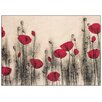 Castleton Home 'Red Poppies' by Andkjaer Art Print