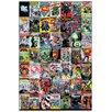 Castleton Home 'DC Comics-Montage' Vintage Advertisement