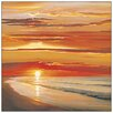 Castleton Home 'Sunset on the Water' by Werner Photographic Print