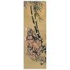 Castleton Home 'Tigre Fra I Bambu Con Luna Piena' by Katsushika Hokusai Art Print
