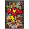 Castleton Home 'Marvel Comics-Iron Man Retro' Graphic Art