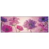 Castleton Home 'Flowers In Purple' Graphic Art