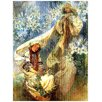 Castleton Home 'Madonna Of The Lilies' by Mucha Graphic Art