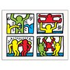 Castleton Home 'Pop Shop Quad 1, 1987' by Haring Graphic Art