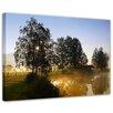 """Castleton Home Leinwandbild """"Morgenstimmung"""", Fotodruck"""