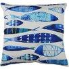 Castleton Home Zierkissen Fisch-Design