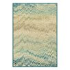 Castleton Home Stratum Miami Blue Area Rug