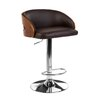 Castleton Home Swivel Adjustable Bar Stool